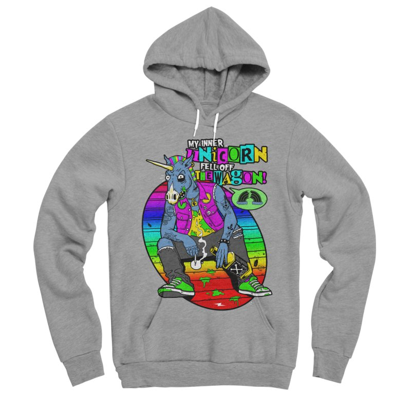My Inner Unicorn Women's Sponge Fleece Pullover Hoody by Rocks Off Designs