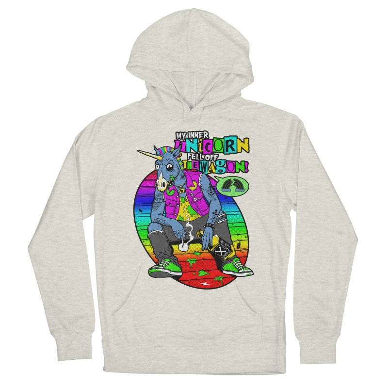 My Inner Unicorn Women's French Terry Pullover Hoody by Rocks Off Designs