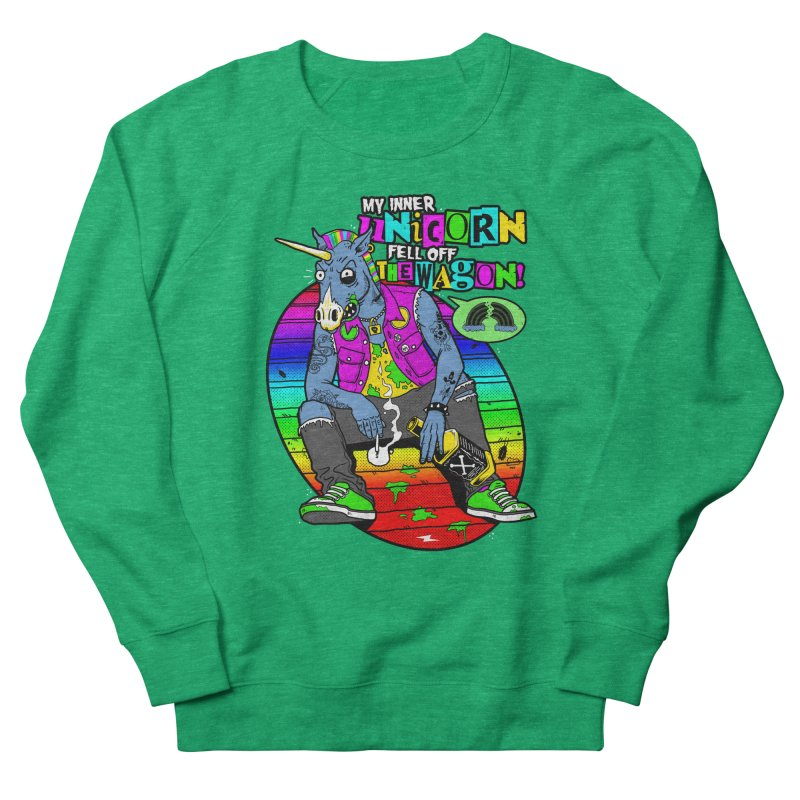 My Inner Unicorn Women's French Terry Sweatshirt by Rocks Off Designs