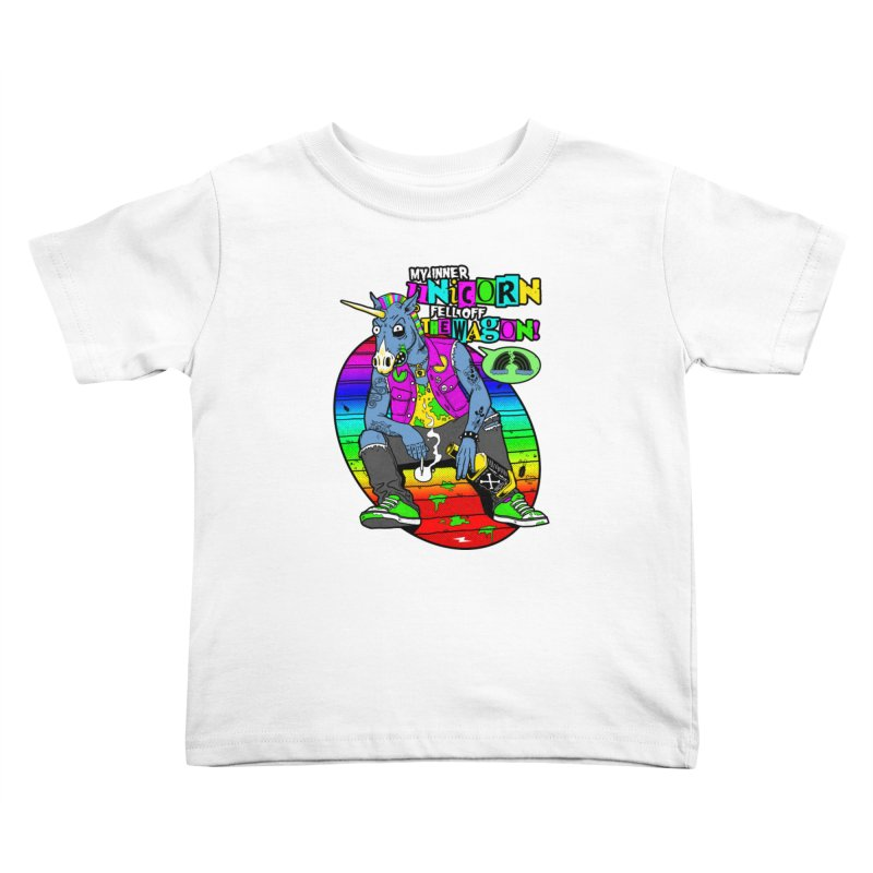 My Inner Unicorn Kids Toddler T-Shirt by Rocks Off Designs