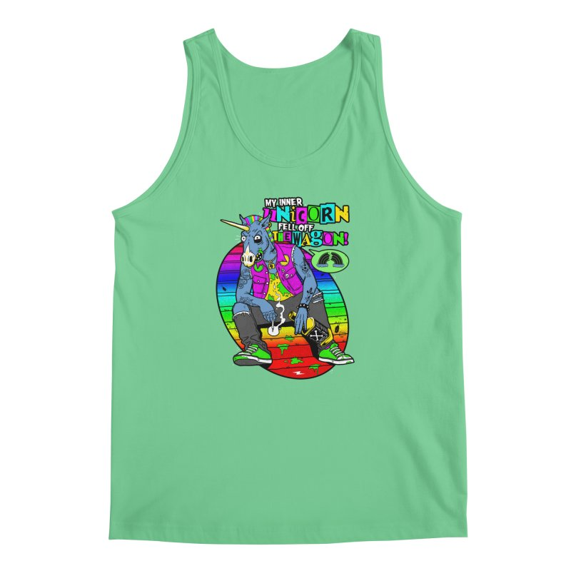 My Inner Unicorn Men's Regular Tank by Rocks Off Designs