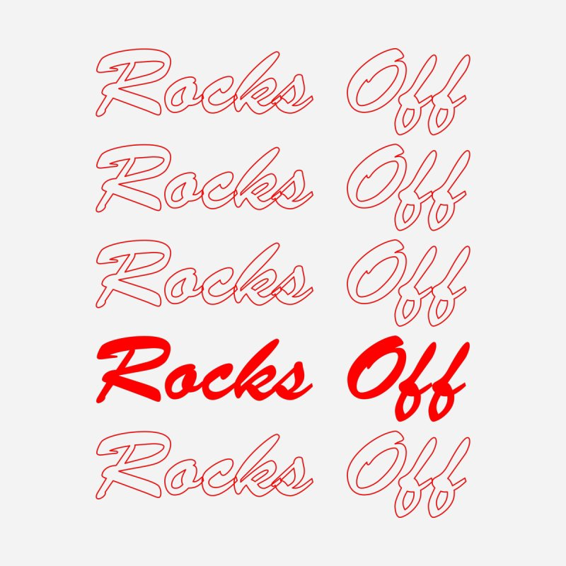 Rocks Off script Kids T-Shirt by Rocks Off Designs