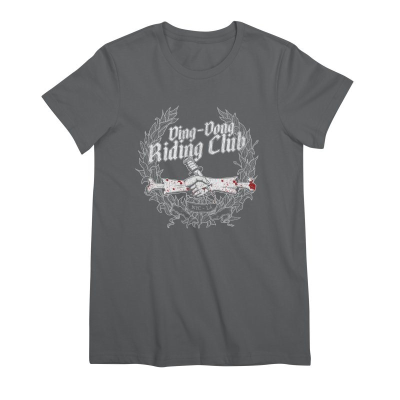 Ding-Dong Riding Club Women's T-Shirt by Rocks Off Designs