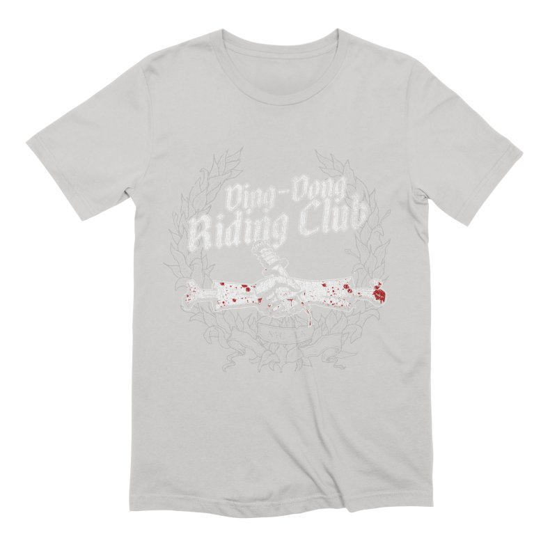 Ding-Dong Riding Club Men's Extra Soft T-Shirt by Rocks Off Designs