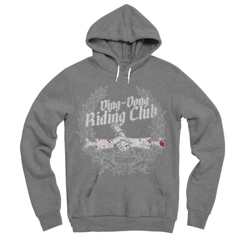 Ding-Dong Riding Club Women's Pullover Hoody by Rocks Off Designs