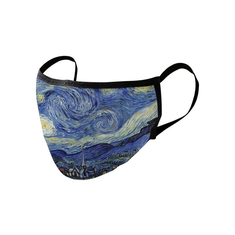 STARRY NIGHT Accessories Face Mask by Rocks Off Threads