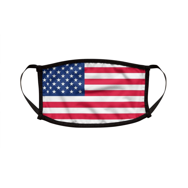 USA Accessories Face Mask by Rocks Off Threads