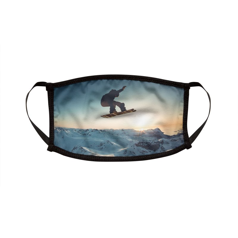 SNOWBOARD AIR Accessories Face Mask by Rocks Off Threads