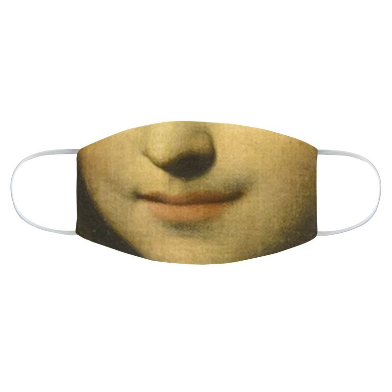 MONA LISA Accessories Face Mask by Rocks Off Threads