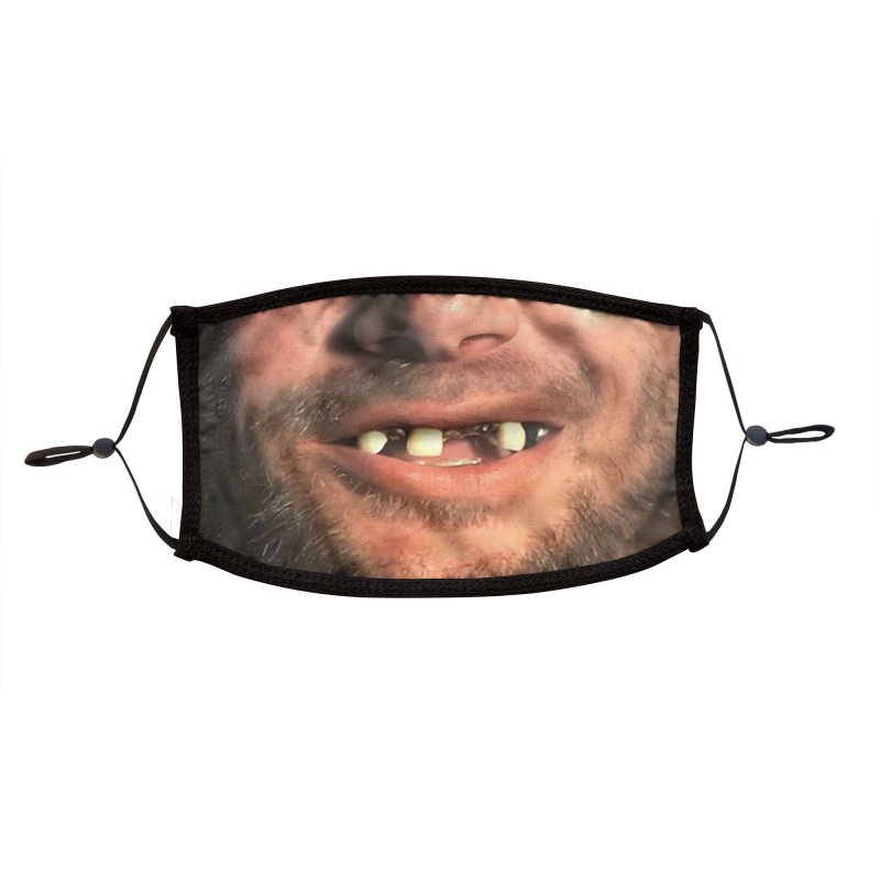 METH MOUTH Accessories Face Mask by Rocks Off Threads