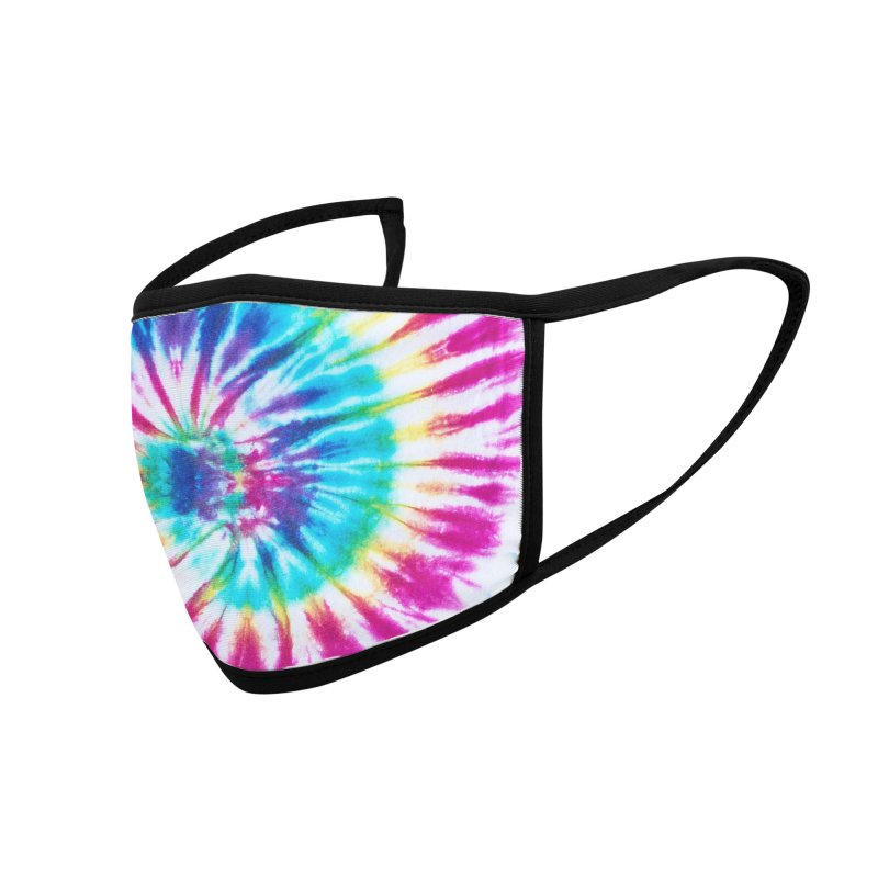 TIE DYE Accessories Face Mask by Rocks Off Threads