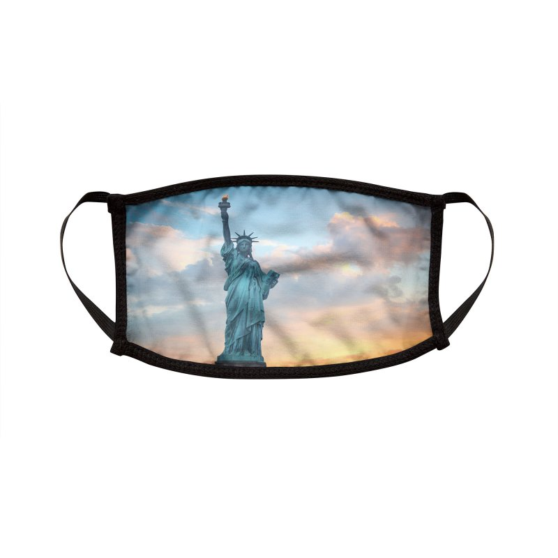 STATUE OF LIBERTY Accessories Face Mask by Rocks Off Threads