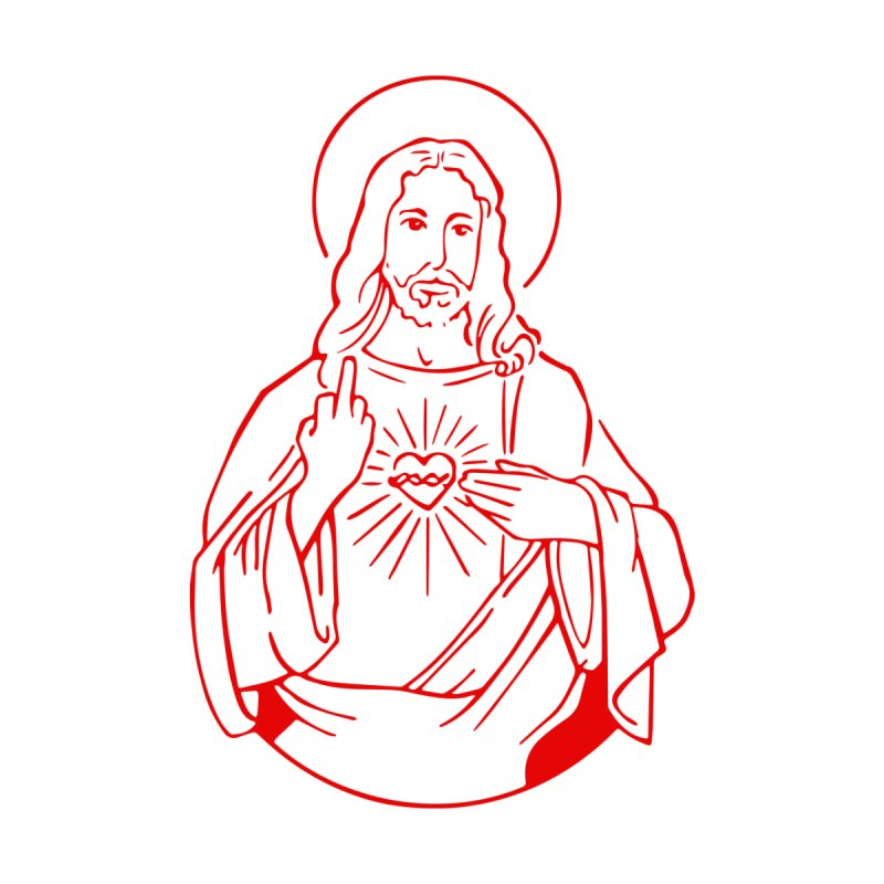 JESUS SAYS Kids T-Shirt by Rocks Off Threads