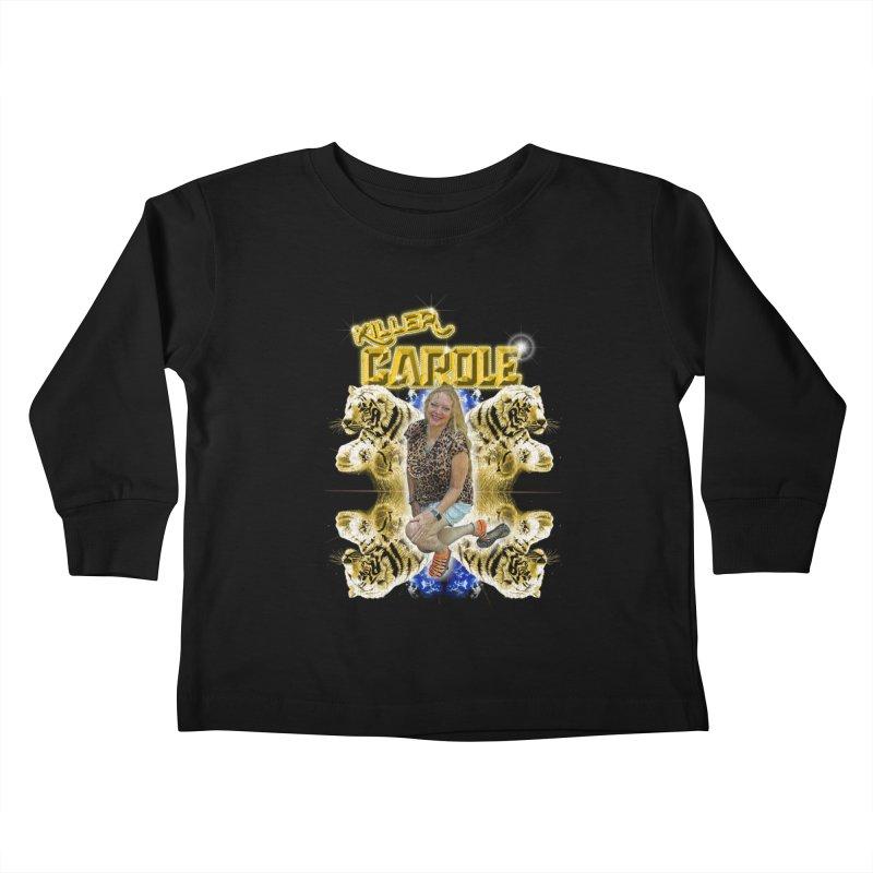 KILLER CAROLE Kids Toddler Longsleeve T-Shirt by Rocks Off Threads