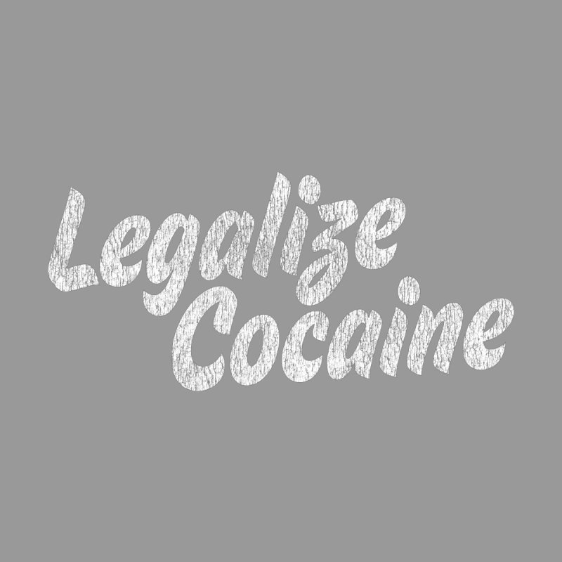 LEGALIZE COCAINE SHIRT Men's T-Shirt by Rocks Off Threads