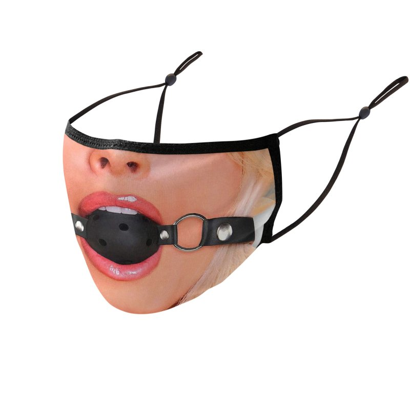 BALL GAG Accessories Face Mask by Rocks Off Threads