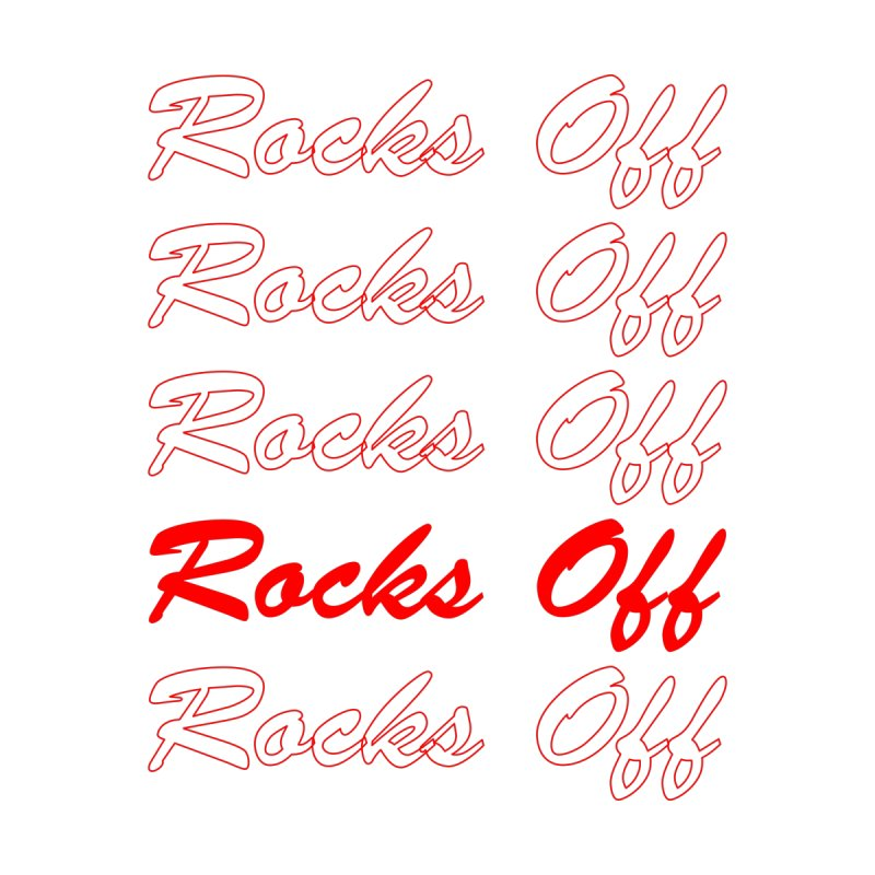 THANK YOU FOR ROCKS OFFing Kids Baby Bodysuit by Rocks Off Threads