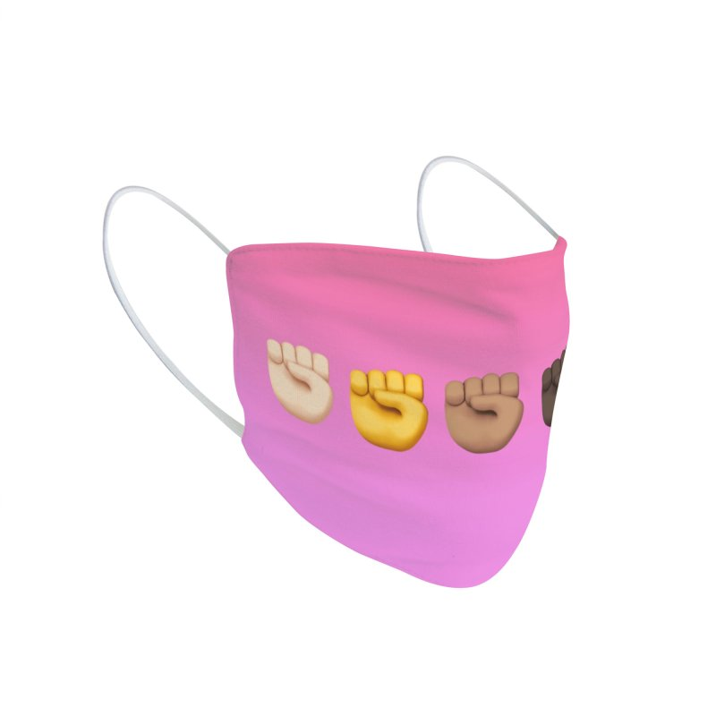 FIGHT THE POWERS Accessories Face Mask by Rocks Off Threads
