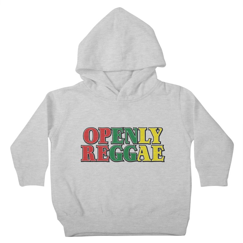 OPENLY REGGAE Kids Toddler Pullover Hoody by Rocks Off Threads