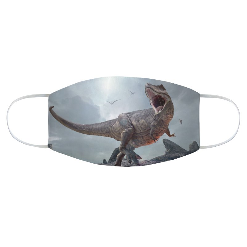 T REX LAVA Accessories Face Mask by Rocks Off Threads