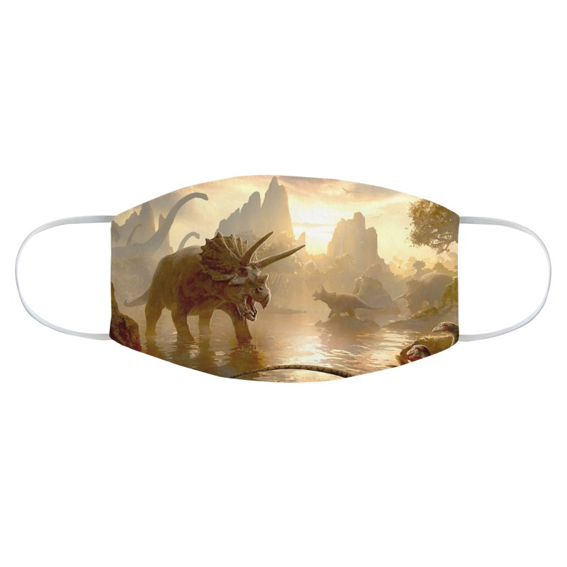 DINO-SCENE Accessories Face Mask by Rocks Off Threads