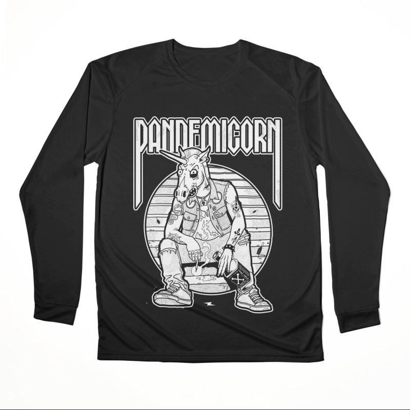 PANDEMICORN Women's Longsleeve T-Shirt by Rocks Off Threads