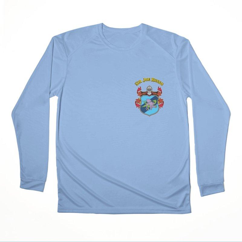 SIR JOE RUSSO left chest print apparel Women's Longsleeve T-Shirt by Rocks Off Threads