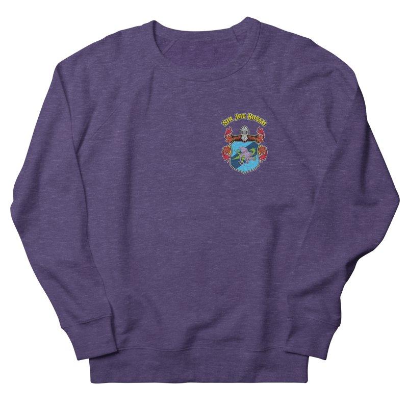 SIR JOE RUSSO left chest print apparel Women's Sweatshirt by Rocks Off Threads