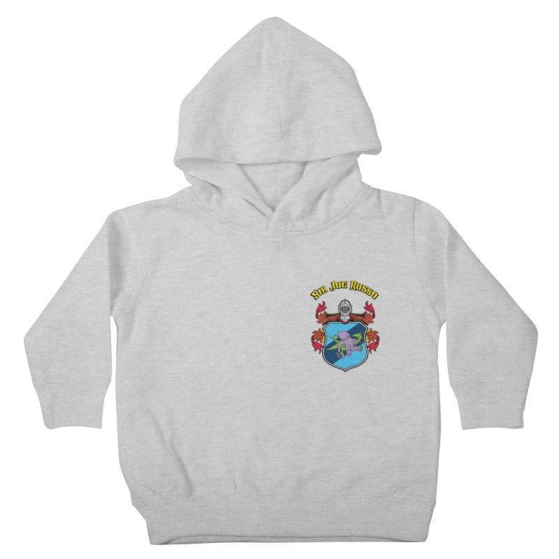 SIR JOE RUSSO left chest print apparel Kids Toddler Pullover Hoody by Rocks Off Threads