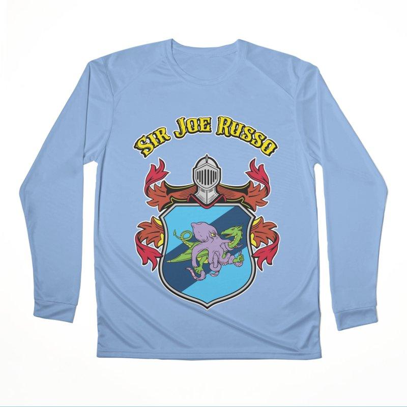 SIR JOE RUSSO full chest print & accessories Women's Longsleeve T-Shirt by Rocks Off Threads