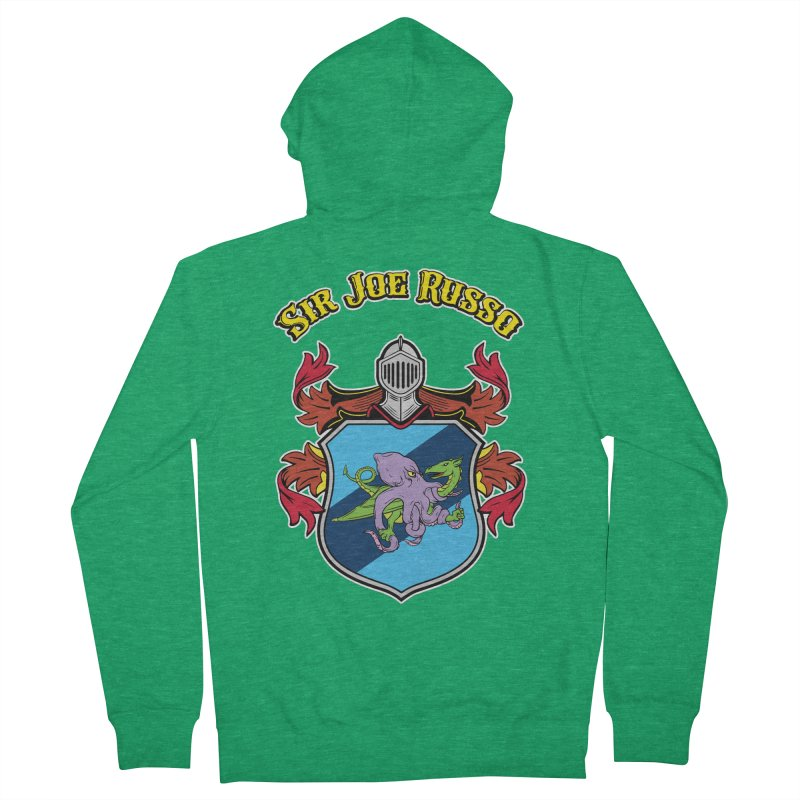 SIR JOE RUSSO full chest print & accessories Women's Zip-Up Hoody by Rocks Off Threads