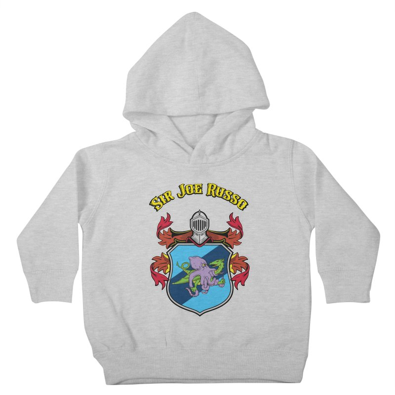 SIR JOE RUSSO full chest print & accessories Kids Toddler Pullover Hoody by Rocks Off Threads