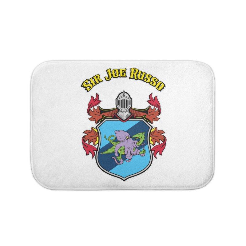 SIR JOE RUSSO full chest print & accessories Home Bath Mat by Rocks Off Threads