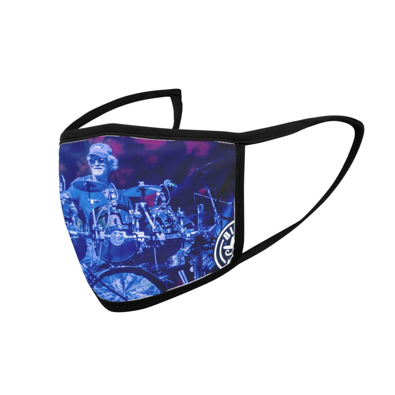 Billy & the Kids: Drumz -> Space Accessories Face Mask by Rocks Off Threads