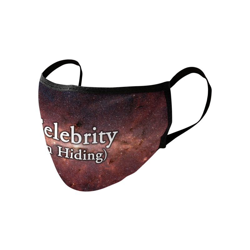 CELEBRITY IN HIDING Accessories Face Mask by Rocks Off Threads