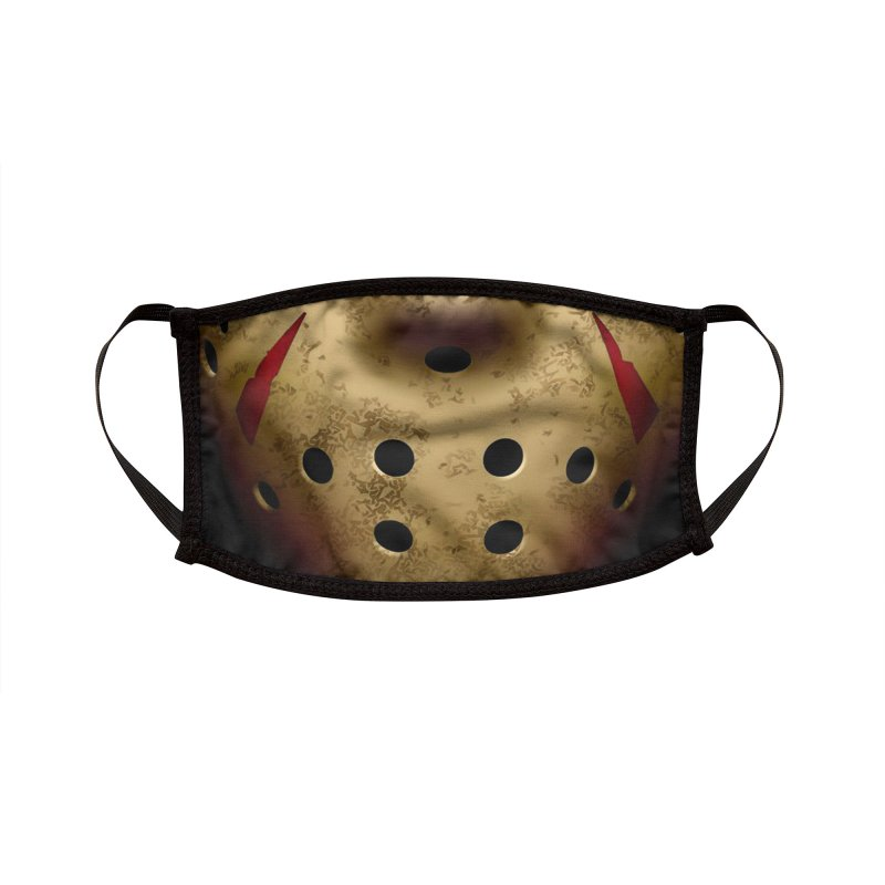 THANK GOD ITS FRIDAY THE 13TH! Accessories Face Mask by Rocks Off Threads