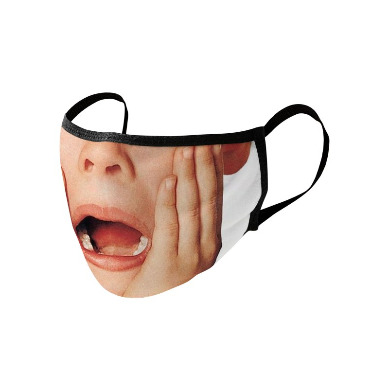 OH NO! Accessories Face Mask by Rocks Off Threads