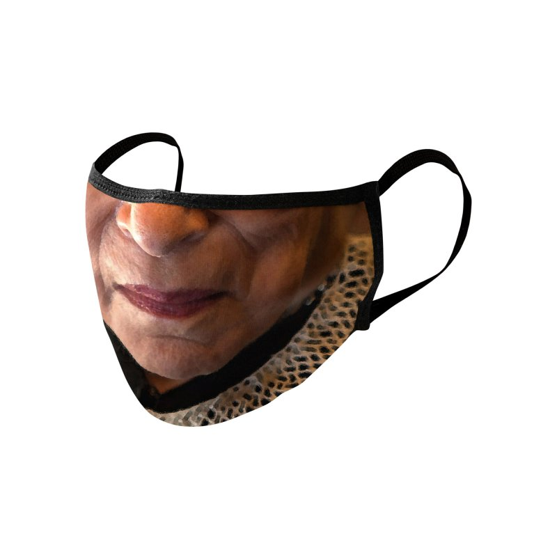 NOTORIOUS RBG Accessories Face Mask by Rocks Off Threads