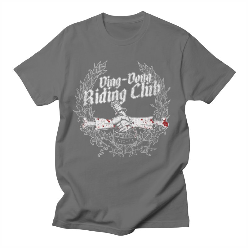 DING DONG RIDING CLUB Men's T-Shirt by Rocks Off Threads