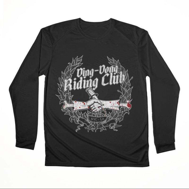 DING DONG RIDING CLUB Women's Longsleeve T-Shirt by Rocks Off Threads