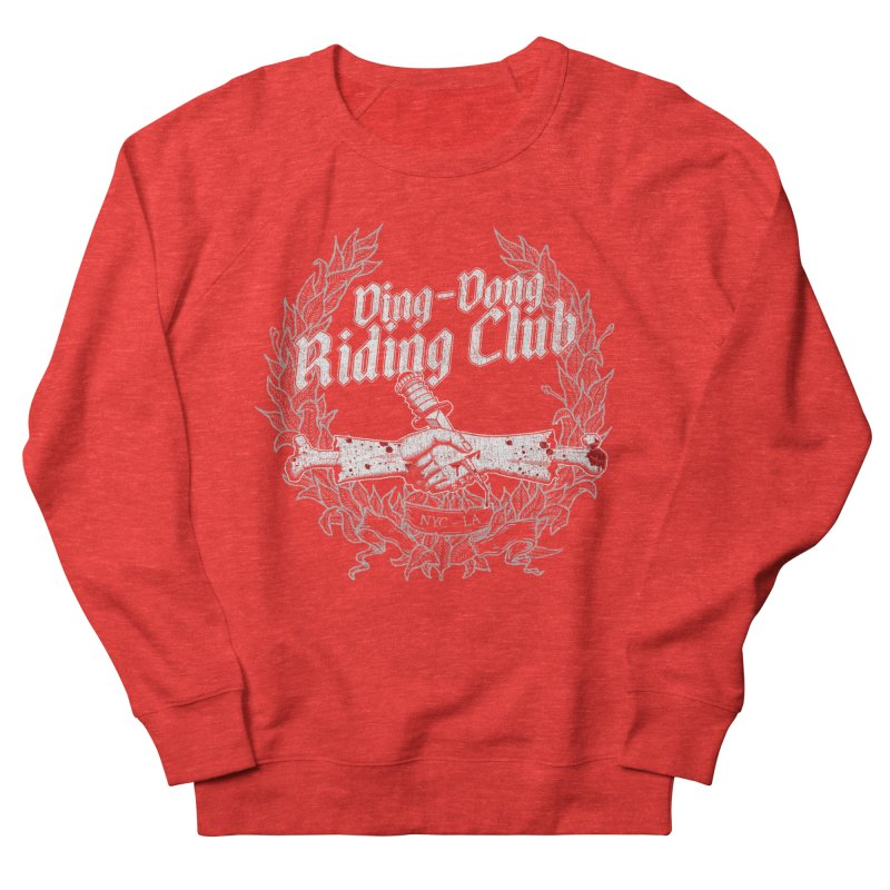 DING DONG RIDING CLUB Women's Sweatshirt by Rocks Off Threads