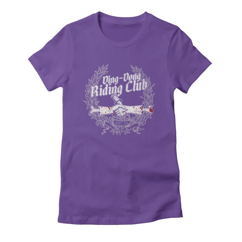 DING DONG RIDING CLUB Women's T-Shirt by Rocks Off Threads