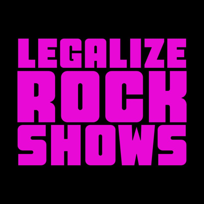 LEGALZIE ROCK SHOWS Kids Pullover Hoody by Rocks Off Threads