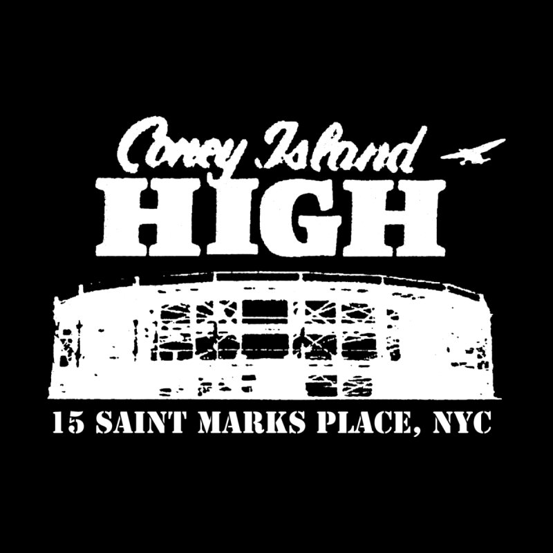 CONEY ISLAND HIGH Men's T-Shirt by Rocks Off Threads