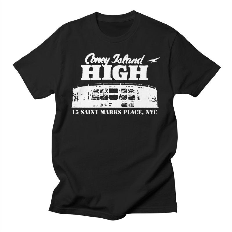 CONEY ISLAND HIGH Men's T-Shirt by Rocks Off Threads