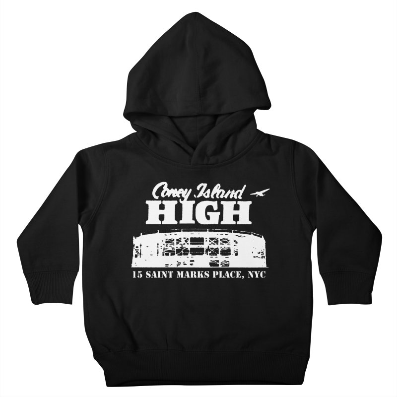 CONEY ISLAND HIGH Kids Toddler Pullover Hoody by Rocks Off Threads