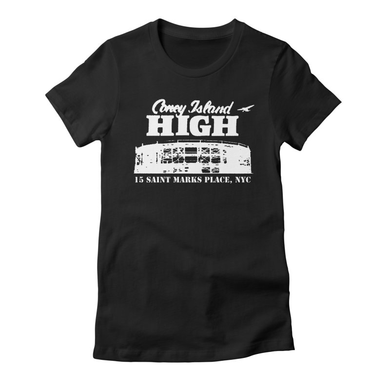 CONEY ISLAND HIGH Women's T-Shirt by Rocks Off Threads