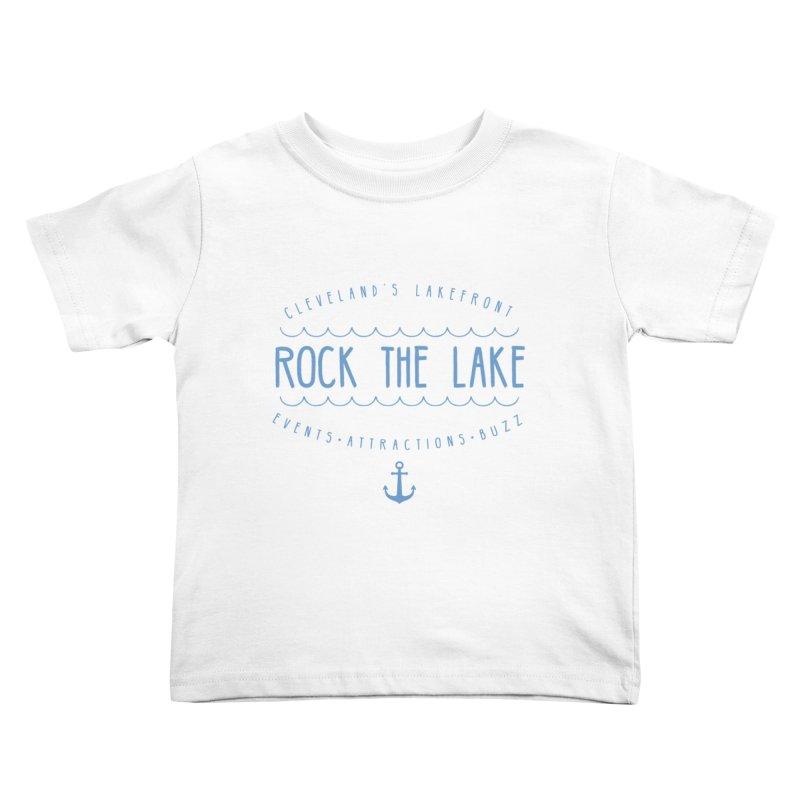Rock the Lake (alternate) Kids Toddler T-Shirt by Rock the Lake's Shop