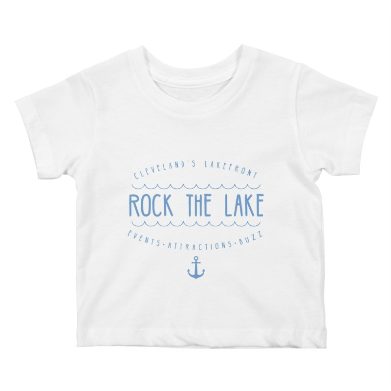 Rock the Lake (alternate) Kids Baby T-Shirt by Rock the Lake's Shop
