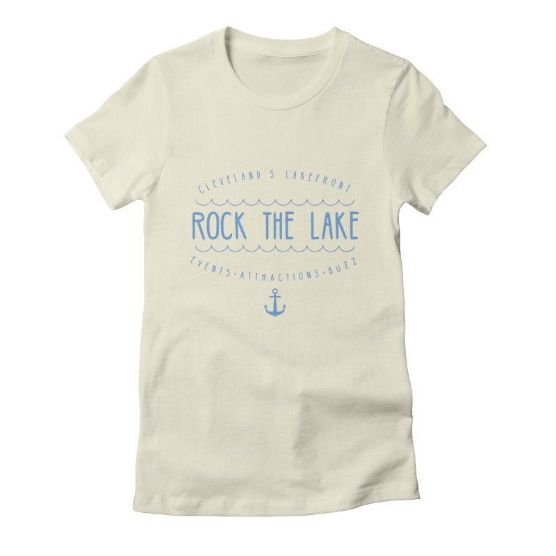 Rock the Lake (alternate) Women's Fitted T-Shirt by Rock the Lake's Shop